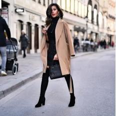 Трендовое пальто этой осени — какое оно?